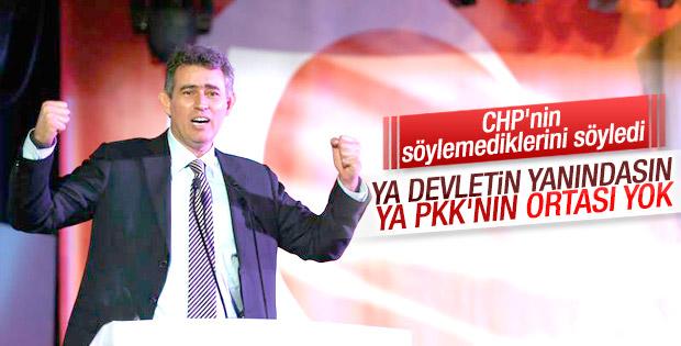 Feyzioğlu: Ya devletin yanındasın ya PKK'nın