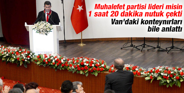 İşte Feyzioğlu'nun Erdoğan'ı kızdıran o sözleri