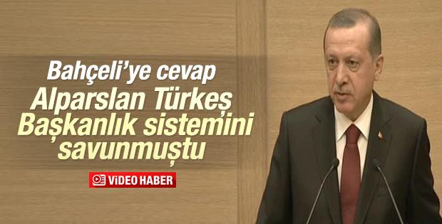 Cumhurbaşkanı Erdoğan TESK heyetine hitap etti