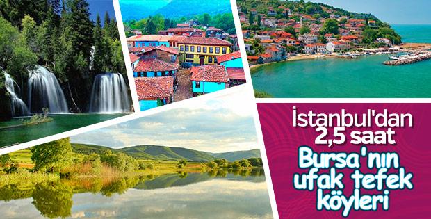 Bursa'nın ufak tefek köyleri