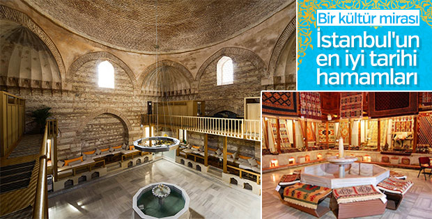 İstanbul'un tarihi hamamları