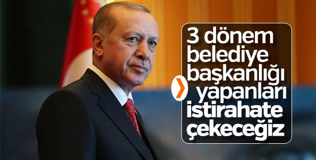 AK Parti'de belediye başkanlarına 3 dönem şartı