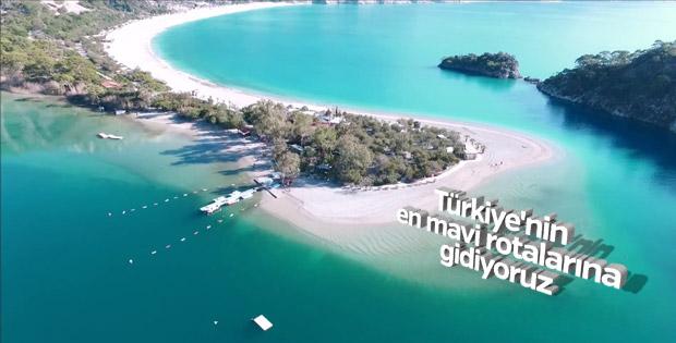 Türkiye'nin en mavi tatil beldeleri