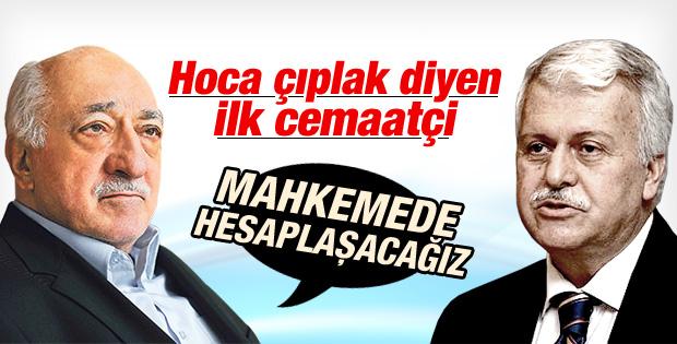 Fethullah Gülen ile Hüseyin Gülerce mahkemelik oldu