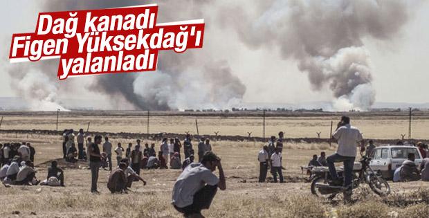 YPG Sözcüsü HDP'li Figen Yüksekdağ'ı yalanladı