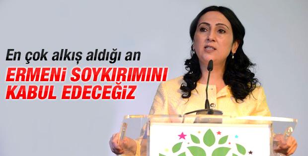 HDP'den Ermeni Soykırımını kabul etme vaadi