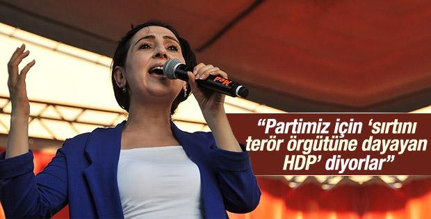 Yüksekdağ: Sırtımızı YPJ'ye, YPG'ye ve PYD'ye yaslıyoruz