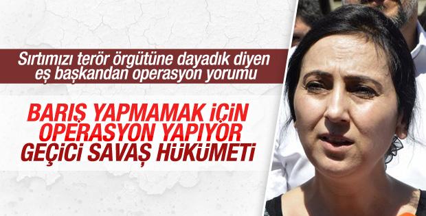 Türk jetlerinin PKK operasyonuna HDP'den ilk yorum