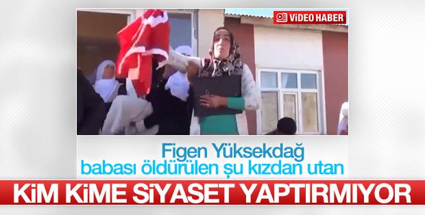 Aydın Muştu'nun kızından PKK'ya tokat gibi sözler