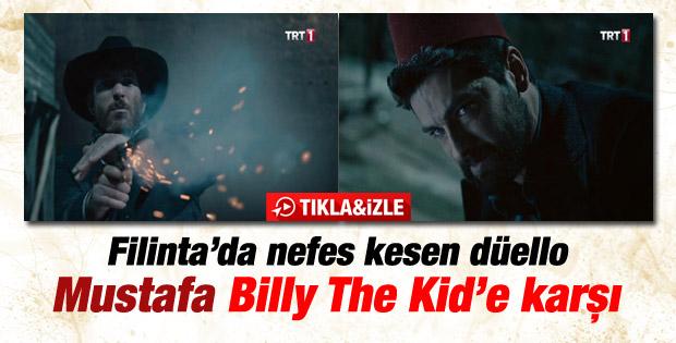 Filinta'da Mustafa'nın Billy The Kid ile düellosu - İzle