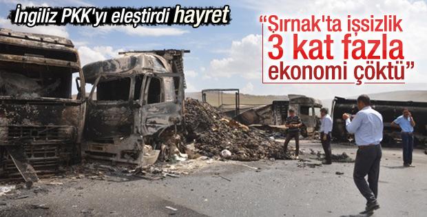 Financial Times: PKK Türkiye'yi olumsuz etkiliyor