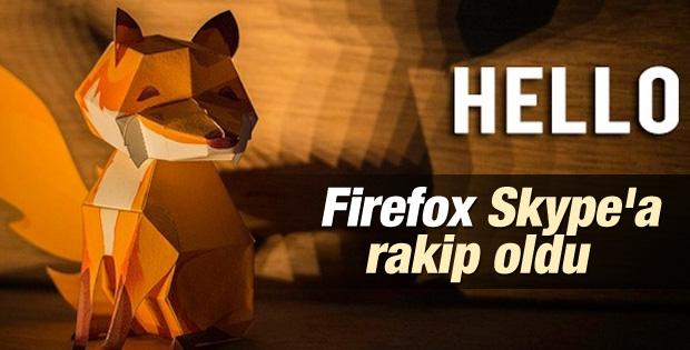 Firefox'tan Skype'a rakip uygulama: Firefox Hello