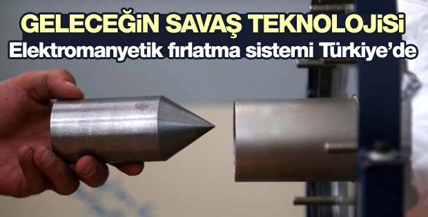 Türk üniversitesinden baruta alternatif fırlatma sistemi