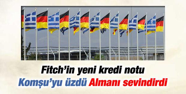 Fitch Yunanistan ve Almanya'nın kredi notunu açıkladı