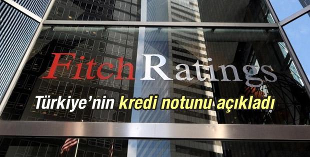 Fitch'ten Türkiye'nin kredi notu hakkında açıklama