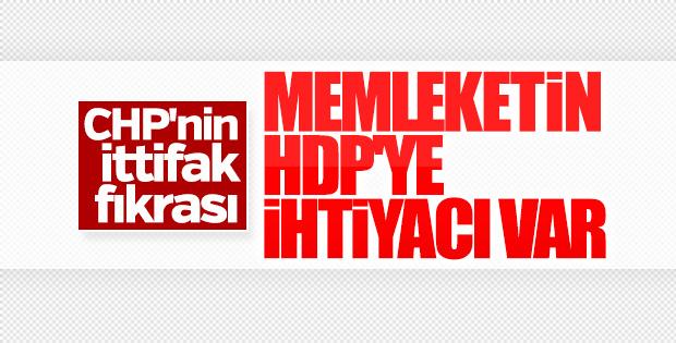 CHP'li Aykut Erdoğdu, HDP ile ittifak istedi