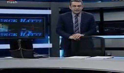 Flash TV'den İnternet Yasası'na zincirli protesto - izle