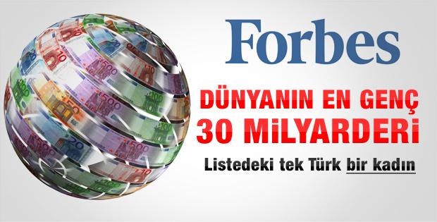 Forbes dünyanın en zengin 30 gencini açıkladı