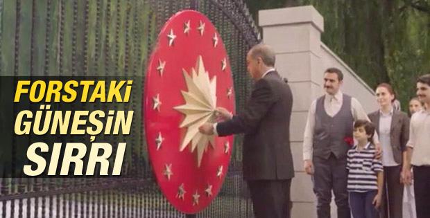 Cumhurbaşkanlığı Forsu'ndaki güneş ne anlama geliyor