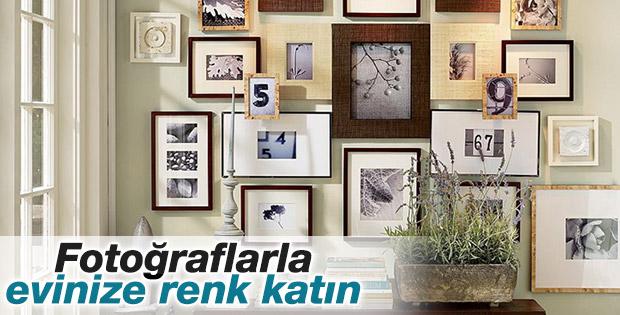 Boş duvarlarınızı fotoğraflarla canlandırın