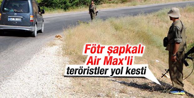 PKK Tunceli'de yol kesti