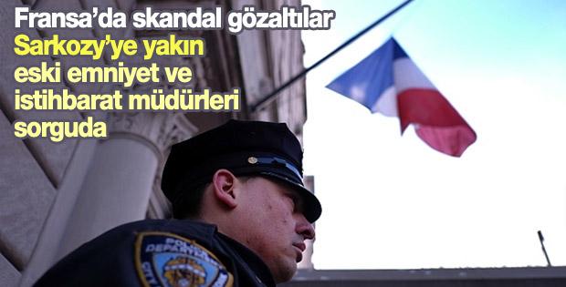 Fransa'da eski emniyet ve istihbarat müdürlerine gözaltı