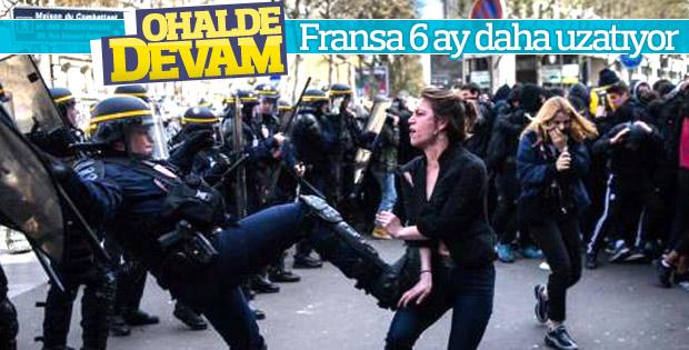 Fransa OHAL'i bir kez daha uzatacak