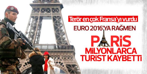Fransa'da turizme terör darbesi