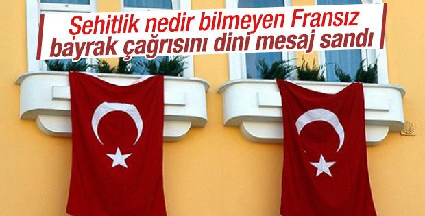 Fransa'da terörü kınayan Türk siyasetçiye uyarı mektubu