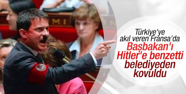 Fransa Başbakanı'nı Hitler gibi gösteren işçi kovuldu
