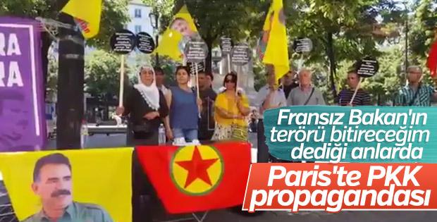 Fransa'da terör sempatizanları eylem yaptı