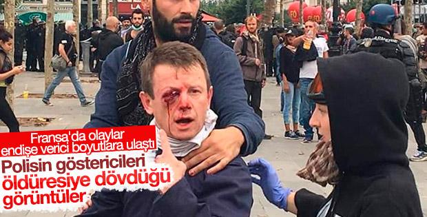 Fransa'da olaylar şiddetlendi