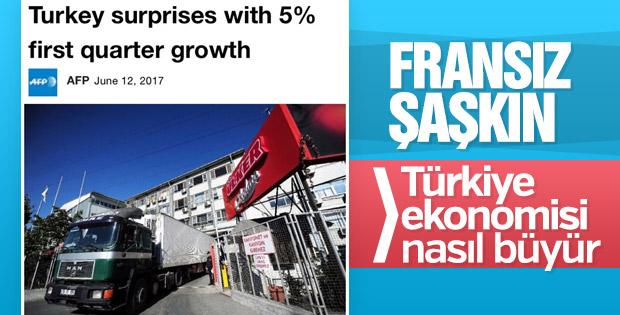 Türkiye ekonomisindeki büyüme Fransızları şaşırttı