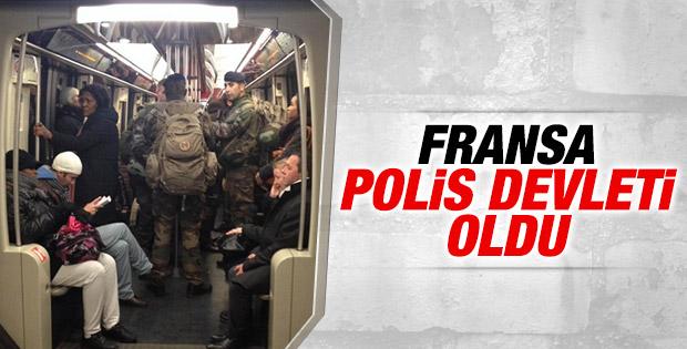 Fransa'da güvenlik önlemleri olağanüstü düzeyde İZLE