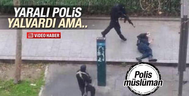 Paris'te öldürülen polis memuru da Müslüman çıktı