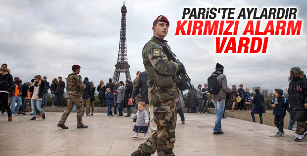 Fransa aylardır terör alarmı veriyordu