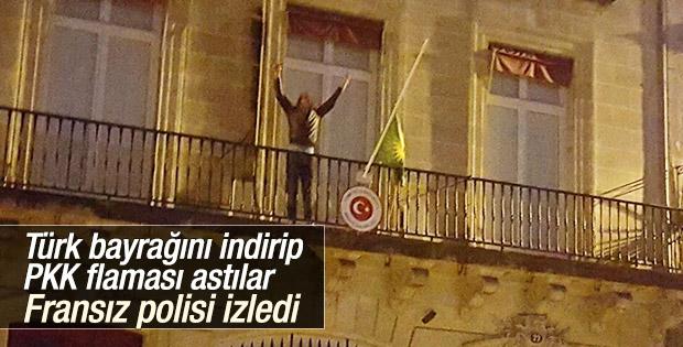 Fransa'da Türk Konsolosluğu'na çirkin saldırı