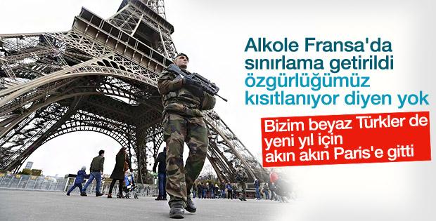 Fransa'da yılbaşı için güvenlik üst seviyede