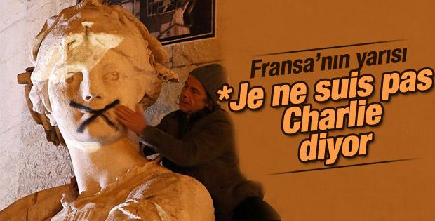 Fransa'nın yüzde 42'si karikatürlere karşı
