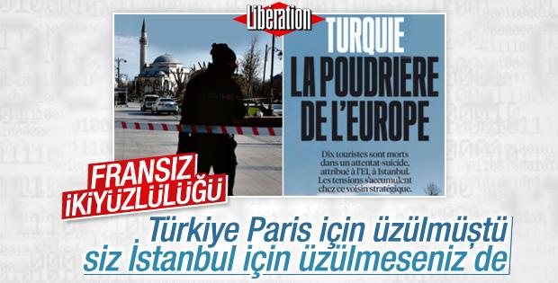 Fransız gazetesinden skandal Sultanahmet manşeti