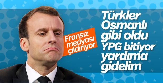 Fransız basını YPG için yardım istedi