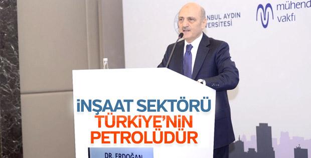 Erdoğan Bayraktar Türk inşaat sektörünün nabzını tuttu