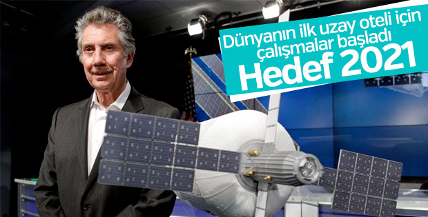 ABD'li iş adamı Bigelow uzay oteli için ilk adımı attı