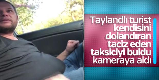Turisti dolandıran tacizci taksiciye para cezası