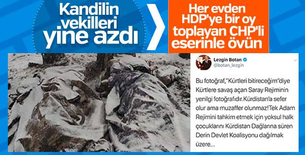 Donarak şehit olan askerleri istismar eden HDP'li