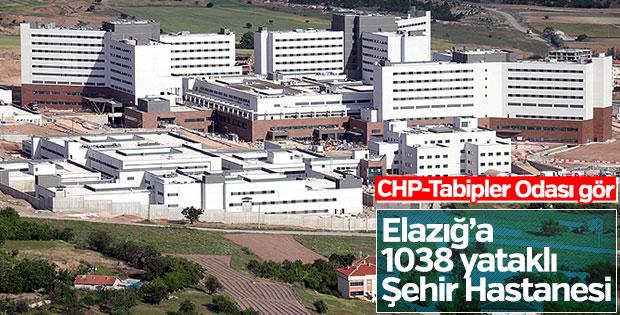 Türkiye'nin 6. şehir hastanesi Elazığ'da açılıyor