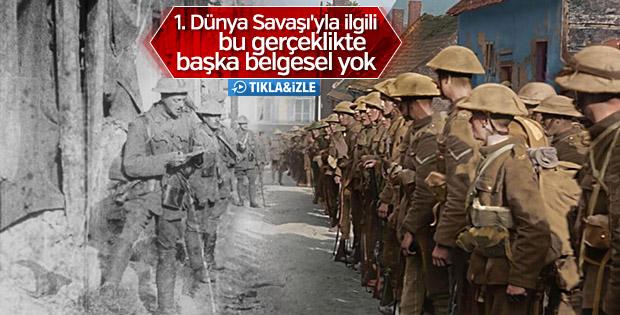 100 yıllık arşivle I. Dünya Savaşı belgeseli