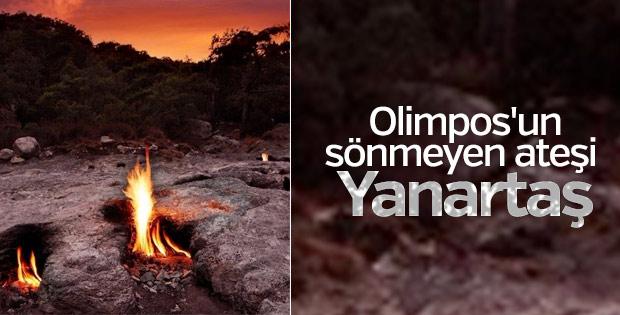 Olimpos'un sönmeyen ateşi: Yanartaş