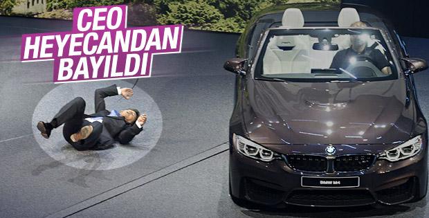 BMW'nin CEO'su fuarda baygınlık geçirdi