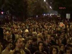 Eskişehir'de Gezi protestosu